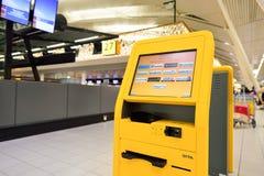 Amsterdam lotnisko Schiphol Zdjęcie Stock