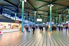 Amsterdam lotnisko Schiphol Obrazy Stock