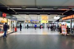 Amsterdam lotnisko Schiphol Fotografia Royalty Free
