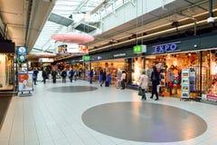 Amsterdam lotnisko Schiphol Fotografia Stock