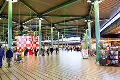 Amsterdam lotnisko Schiphol Zdjęcia Stock