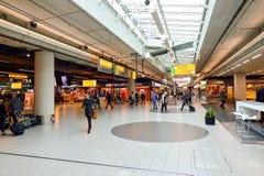 Amsterdam lotnisko Schiphol Zdjęcie Royalty Free