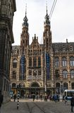 Amsterdam magnumów placu centrum handlowe fotografia royalty free
