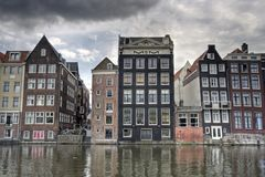 Amsterdam Mansions Stock Images