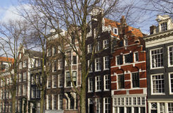 Amsterdam Mansions, Holland Royalty Free Stock Image