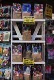 AMSTERDAM-MAY 13 :不同的种类郁金香电灯泡 库存照片