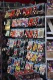 AMSTERDAM-MAY 13 :不同的种类郁金香电灯泡 免版税库存照片