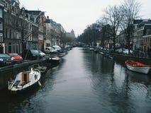 Amsterdam med förälskelse Royaltyfria Foton