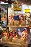 13 Amsterdam-MEI: Verschillende soorten tulpenbollen Royalty-vrije Stock Foto's