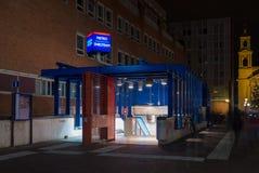 Amsterdam metro Stock Photo