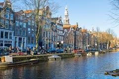 amsterdam miasta holandie sceniczne Zdjęcia Stock