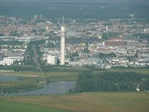 AMSTERDAM miasto BLISKO lotniska Zdjęcie Stock
