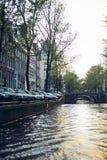 Amsterdam miasto, holandie - podróżuje w Europa pojęciu zdjęcie stock