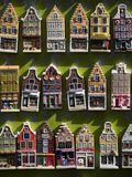 Amsterdam Model Houses Stock Photo