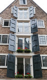 Amsterdam Multilevel House Royalty Free Stock Images