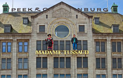 Amsterdam - musée de cire de Madame Tussauds Photo stock