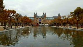 Amsterdam muzeum Holland Zdjęcie Royalty Free