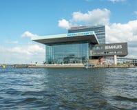 Amsterdam Muziekgebouw Stock Photos