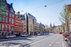 amsterdam Nederländerna Royaltyfri Fotografi