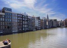 Amsterdam Nederländerna Royaltyfria Foton