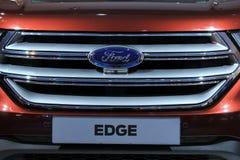 Amsterdam Nederländerna - April 23, 2015: Ford Edge detalj Arkivbilder