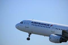 Amsterdam Nederländerna - April 2nd, 2017: F-GTAK Air France Royaltyfria Bilder
