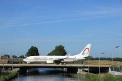 Amsterdam Nederländerna - Juni 9th 2016: Kunglig luft Mars för CN-RGE Arkivbilder
