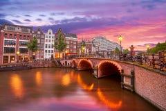Amsterdam, Nederland Stock Foto