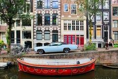 Amsterdam Nederland Stock Afbeelding