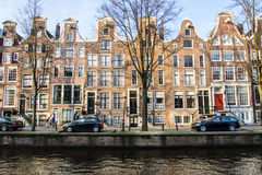 Amsterdam Neighbrohood Royalty Free Stock Photo
