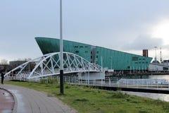 Amsterdam Nemo Museum royaltyfria bilder