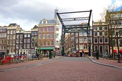 Amsterdam in the Netherlands Royalty Free Stock Photo
