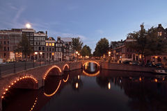 Amsterdam in the Netherlands Stock Images