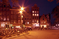 Amsterdam in the Netherlands Royalty Free Stock Photography