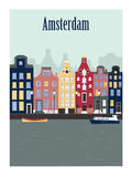Amsterdam. Netherlands. Royalty Free Stock Photography