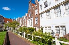 Amsterdam, Netherlands-April 30: The Begijnhof courtyard on April 30,2015, the Netherlands. Stock Photo