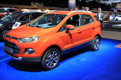 Amsterdam, The Netherlands - April 23, 2015: Ford Eco Sport at e. Amsterdam, The Netherlands - April 23, 2015: Ford eco sport  on display at the 2015 Amsterdam Stock Images