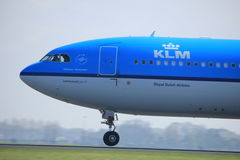 Amsterdam the Netherlands - April 2nd, 2017: PH-AKF KLM Royal Dutch Airlines Stock Photo