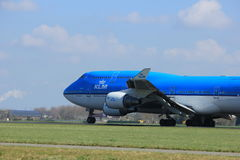 Amsterdam the Netherlands - April 2nd, 2017: PH-BFI KLM Royal Dutch Airlines Stock Photography