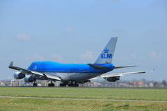 Amsterdam the Netherlands - April 2nd, 2017: PH-BFI KLM Royal Dutch Airlines Stock Image
