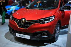 Amsterdam, The Netherlands - April 23, 2015: Renault Kadjar Intr Royalty Free Stock Image