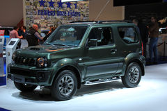 Amsterdam, The Netherlands - April 23, 2015: Suzuki Jimny on sta Stock Image