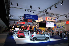 Amsterdam, The Netherlands - April 23, 2015: Suzuki Stand at exh Royalty Free Stock Images