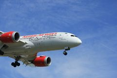 Amsterdam the Netherlands - April, 19th 2018: 5Y-KZC Kenya Airways Boeing Stock Photography