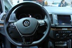 Amsterdam, The Netherlands - April 23, 2015: Volkswagen Sharan i Stock Image