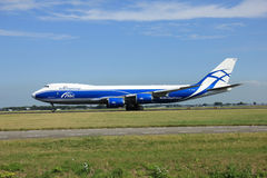 Amsterdam, The Netherlands - August 7 2015:  AirBridgeCargo Boei Stock Image