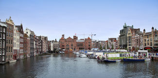 AMSTERDAM; THE NETHERLANDS - AUGUST 16; 2015: Beautiful views of Stock Photo