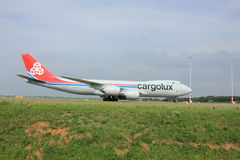 Amsterdam, The Netherlands - August 10 2015: LX-VCG Cargolux Air Stock Images