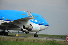 Amsterdam, The Netherlands - August 10 2015: PH-BFN KLM Boeing 7 Royalty Free Stock Images