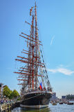 Amsterdam, Netherlands - August 20: SAIL Amsterdam 2015 the biggest sail event in the world Stock Image